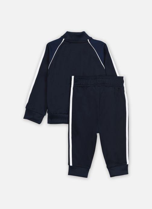 Vêtements adidas originals Sst Tracksuit I Bleu vue portées chaussures