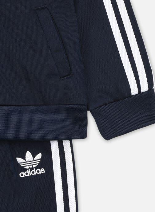 Vêtements adidas originals Sst Tracksuit I Bleu vue face