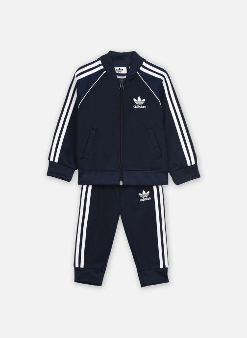 Vêtements adidas originals Sst Tracksuit I Bleu vue détail/paire