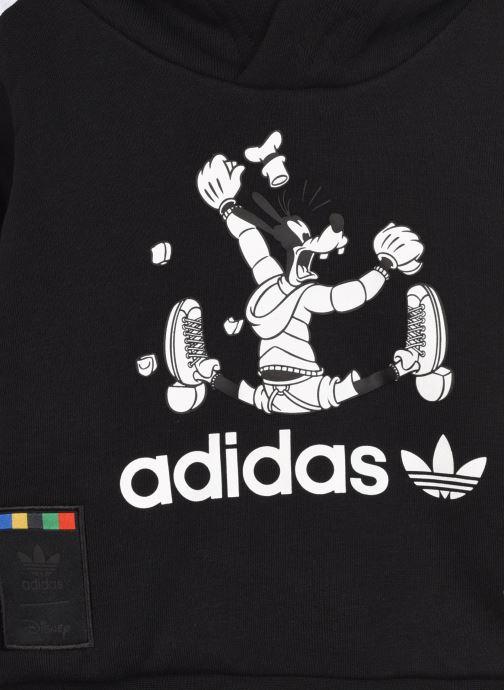 Vêtements adidas originals Goofy Hoodie I Noir vue face