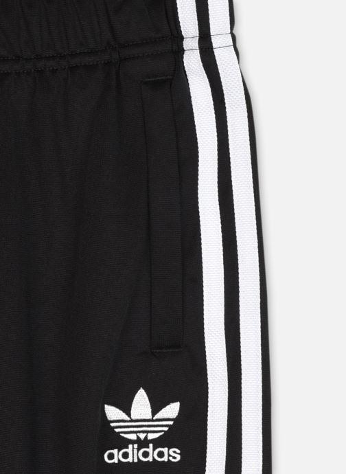 Kleding adidas originals Sst Trackpant J Zwart voorkant