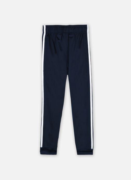 Vêtements adidas originals Sst Trackpant J Bleu vue portées chaussures