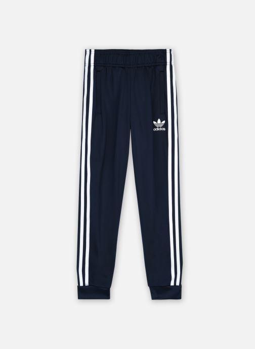 Vêtements adidas originals Sst Trackpant J Bleu vue détail/paire