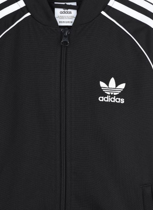 Vêtements adidas originals Sst Tracktop J Noir vue face