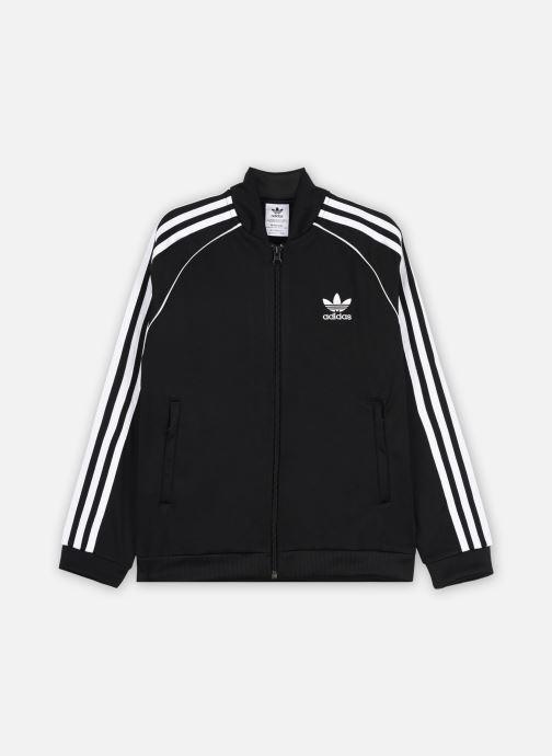 Vêtements adidas originals Sst Tracktop J Noir vue détail/paire