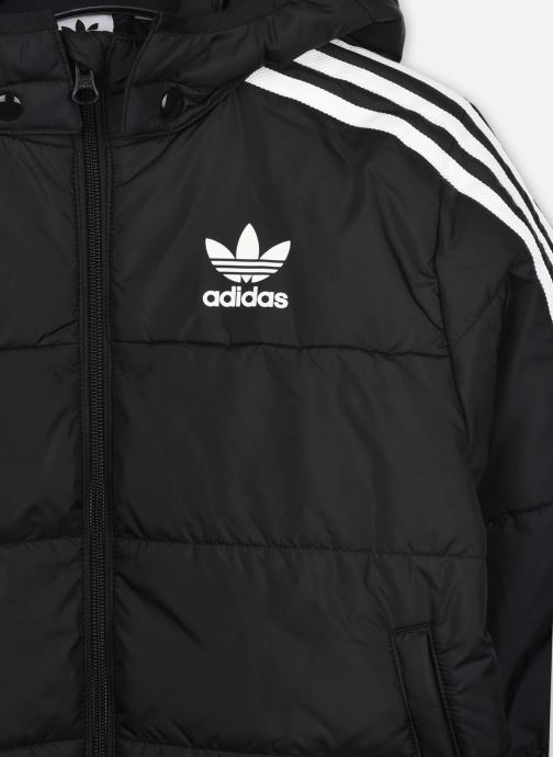 Vêtements adidas originals Padded Jacket J Noir vue face