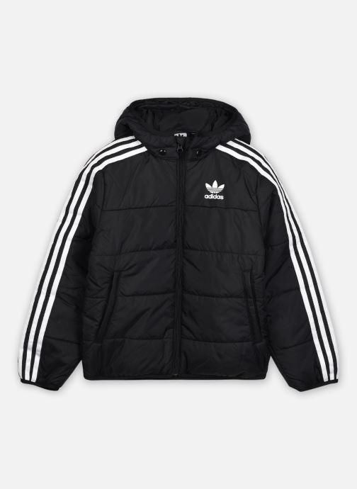 Vêtements adidas originals Padded Jacket J Noir vue détail/paire