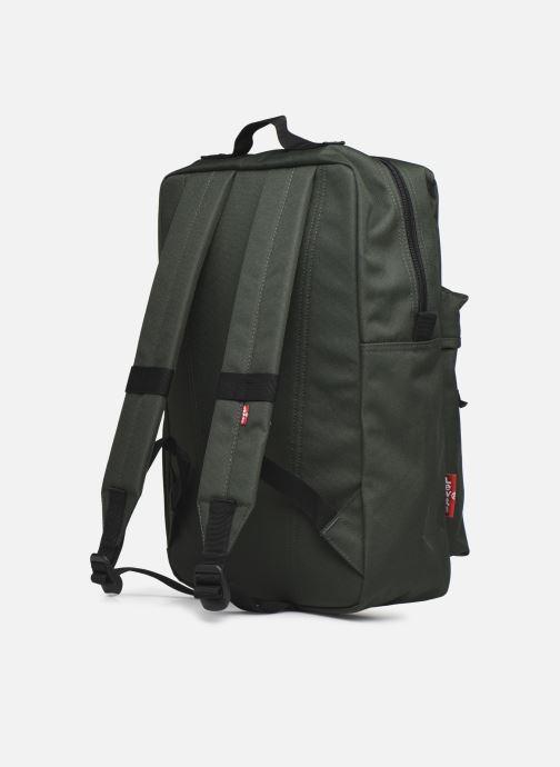 Sacs à dos Levi's Levi's L Pack Standard Issue Vert vue droite
