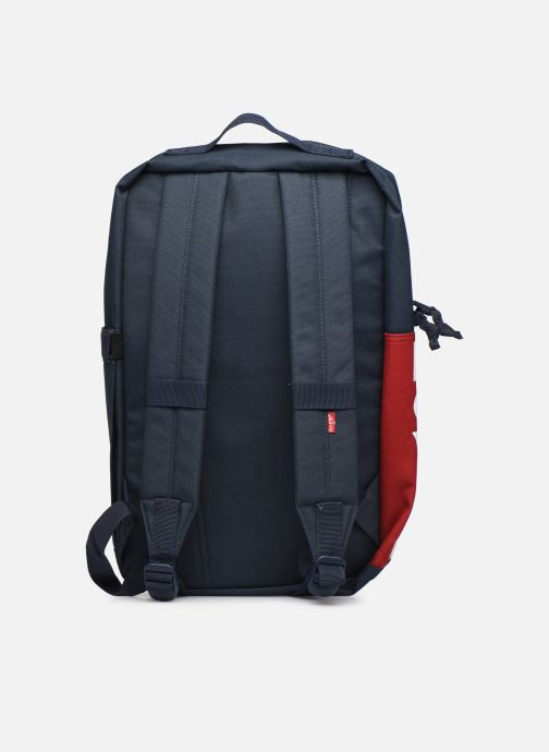 Sacs à dos Levi's Updated Levi's L Pack Standard Issue - Red Tab Sid Bleu vue face