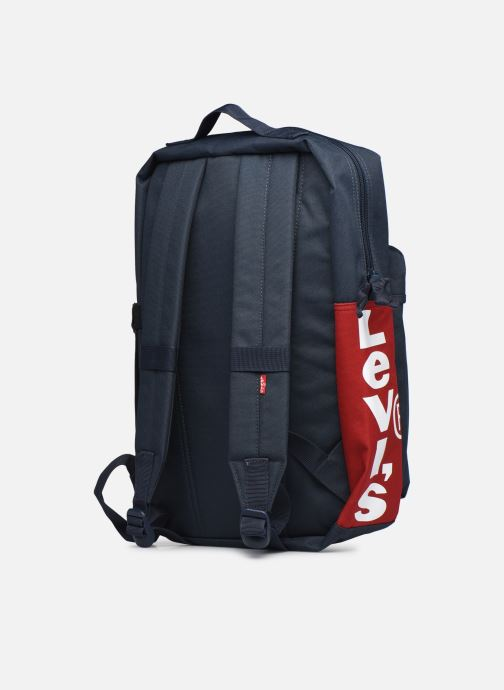Sacs à dos Levi's Updated Levi's L Pack Standard Issue - Red Tab Sid Bleu vue droite