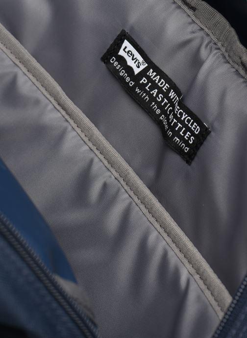 Rucksäcke Levi's Updated Levi's L Pack Standard Issue - Red Tab Sid blau ansicht von hinten