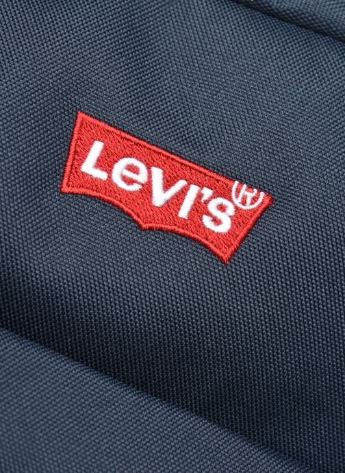 Sacs à dos Levi's Updated Levi's L Pack Standard Issue - Red Tab Sid Bleu vue gauche