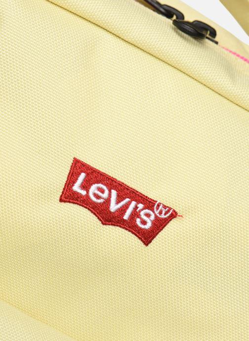 Sacs à dos Levi's Women'S Levi'S® L Pack Mini Jaune vue derrière