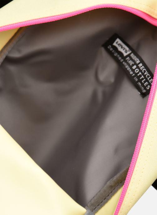 Mochilas Levi's Women'S Levi'S® L Pack Mini Amarillo vista lateral izquierda