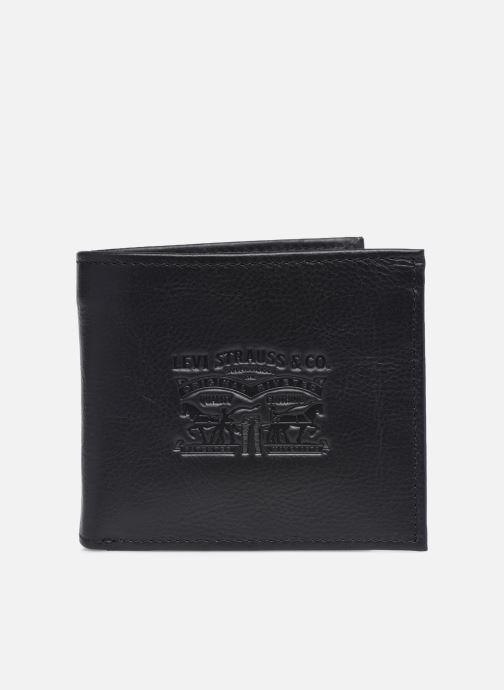 Marroquinería pequeña Levi's Vintage Two Horse Bifold Coin Wallet Negro vista de detalle / par
