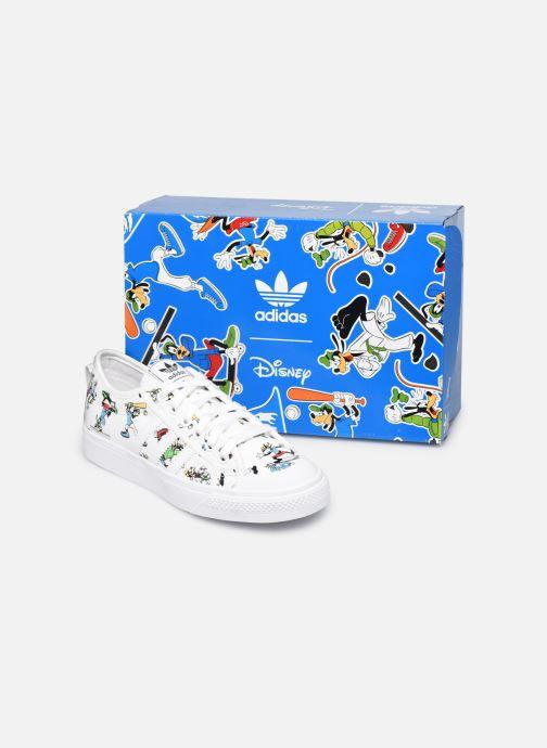 Sneaker adidas originals Nizza J X Disney Sport Goofy weiß 3 von 4 ansichten