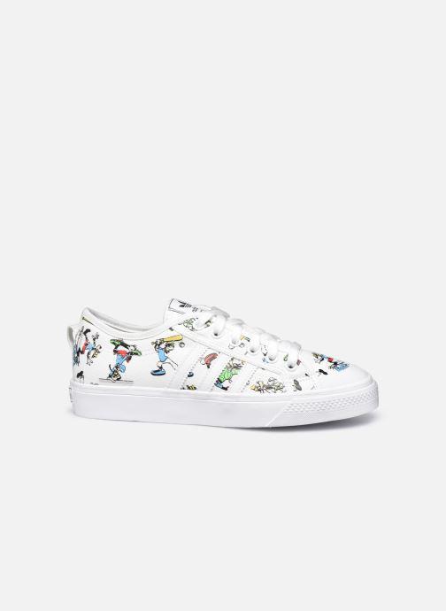 Sneaker adidas originals Nizza J X Disney Sport Goofy weiß ansicht von hinten