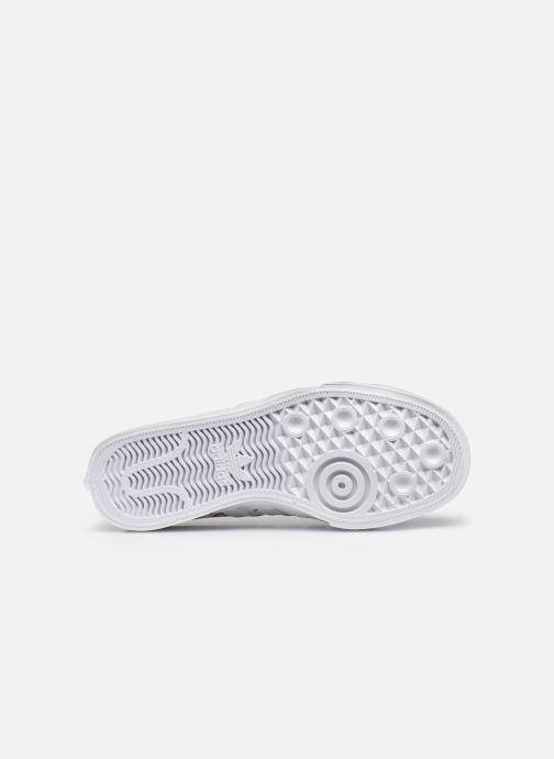 Sneaker adidas originals Nizza J X Disney Sport Goofy weiß ansicht von oben
