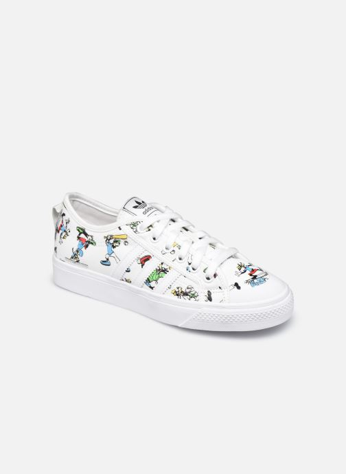 Sneaker adidas originals Nizza J X Disney Sport Goofy weiß detaillierte ansicht/modell