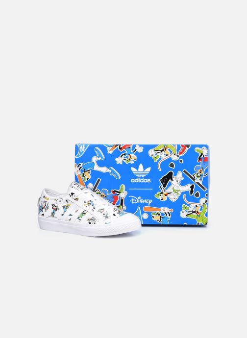 Sneakers adidas originals Nizza C X Disney Sport Goofy Bianco immagine 3/4