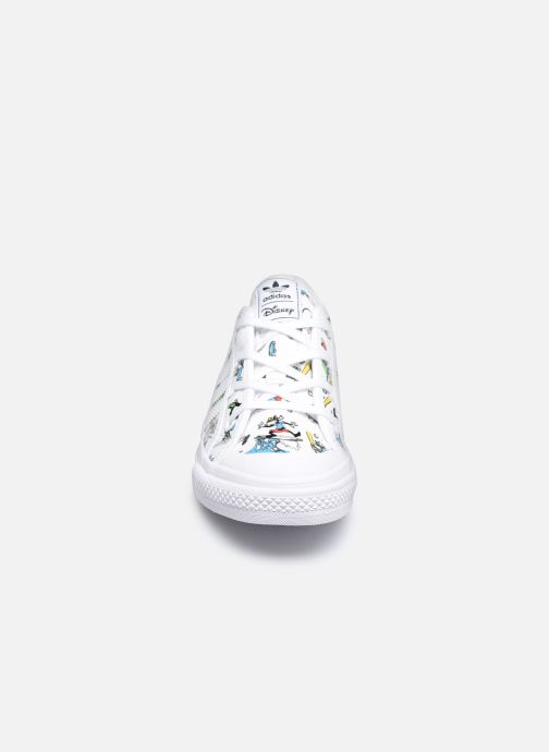 Sneaker adidas originals Nizza C X Disney Sport Goofy weiß schuhe getragen