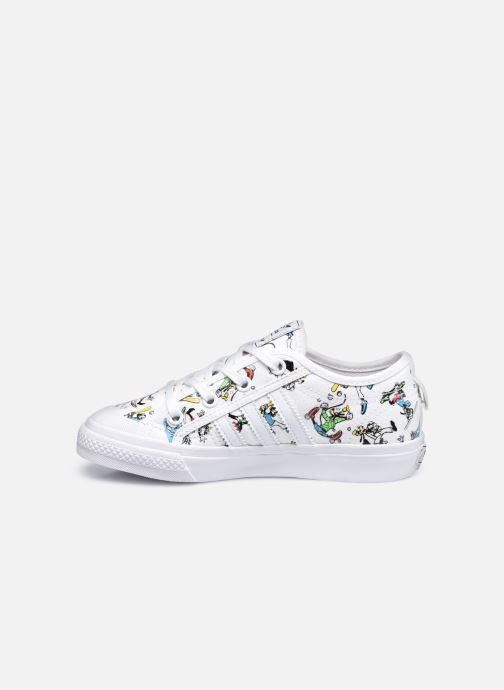 Sneaker adidas originals Nizza C X Disney Sport Goofy weiß ansicht von vorne