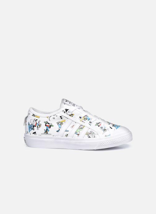 Sneaker adidas originals Nizza C X Disney Sport Goofy weiß ansicht von hinten