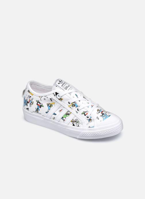 Sneakers adidas originals Nizza C X Disney Sport Goofy Bianco vedi dettaglio/paio