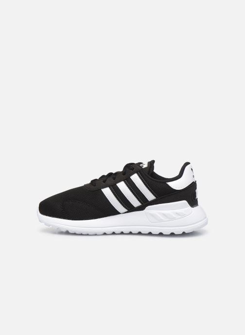 Sneaker adidas originals La Trainer Lite C schwarz ansicht von vorne