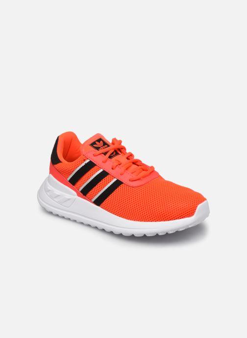 Baskets adidas originals La Trainer Lite C Orange vue détail/paire