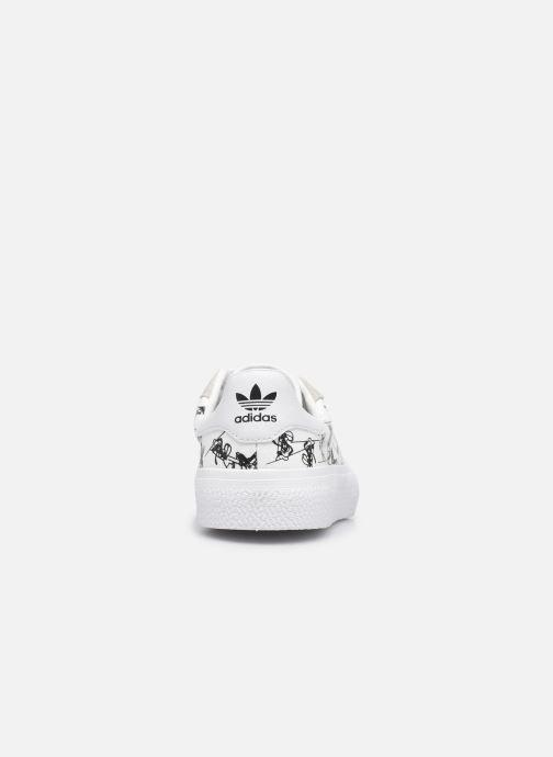 Sneaker adidas originals 3MC J X Disney Sport Goofy weiß ansicht von rechts