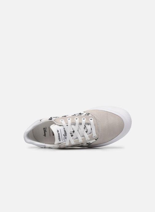 Sneaker adidas originals 3MC J X Disney Sport Goofy weiß ansicht von links
