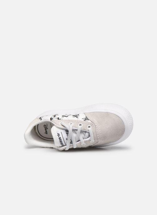 Sneaker adidas originals 3MC I X Disney Sport Goofy weiß ansicht von links