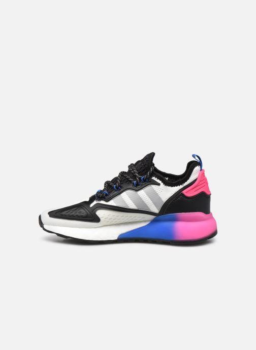 Sneaker adidas originals Zx 2K Boost J weiß ansicht von vorne