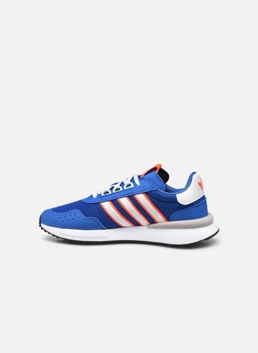 Sneakers adidas originals Retroset J Azzurro immagine frontale