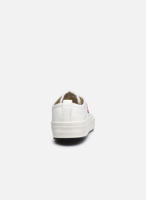 Sneaker Levi's Sherwood S Low weiß ansicht von rechts