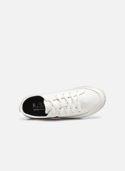 Sneaker Levi's Sherwood S Low weiß ansicht von links