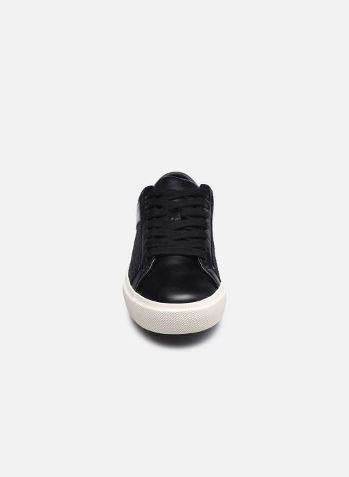 Sneaker Levi's Woodward Ls schwarz schuhe getragen