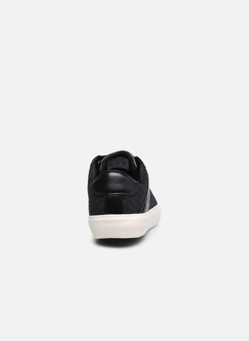 Sneaker Levi's Woodward Ls schwarz ansicht von rechts