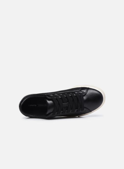Sneaker Levi's Woodward Ls schwarz ansicht von links