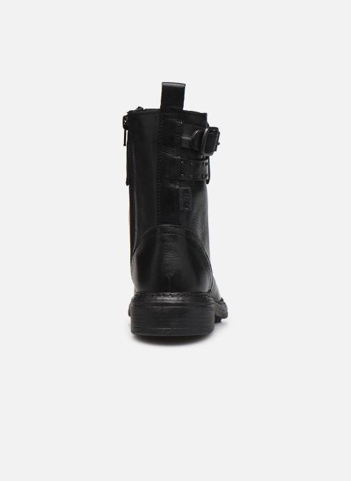 Bottines et boots Levi's SLY STUDS II Noir vue droite