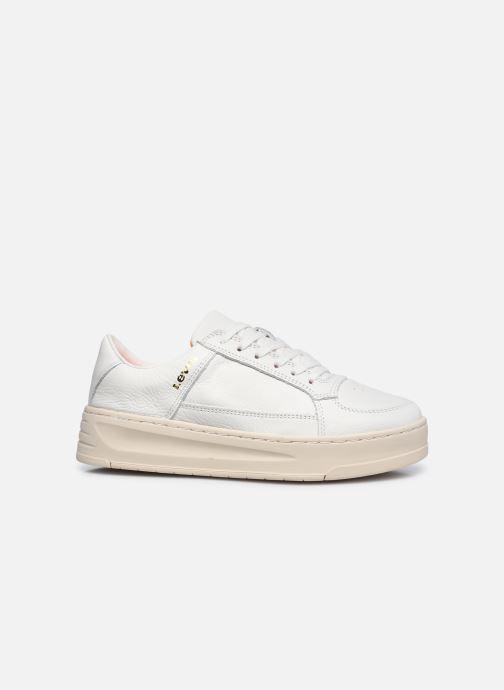 Sneaker Levi's Silverwood S weiß ansicht von hinten