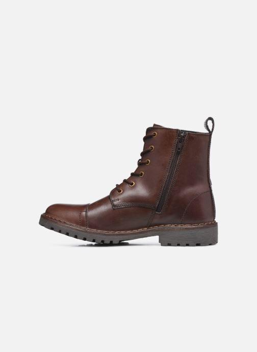 Bottines et boots Levi's Tracker Marron vue face