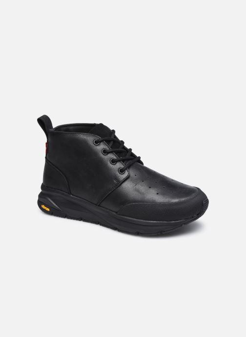 Sneakers Levi's Mojave Sort detaljeret billede af skoene