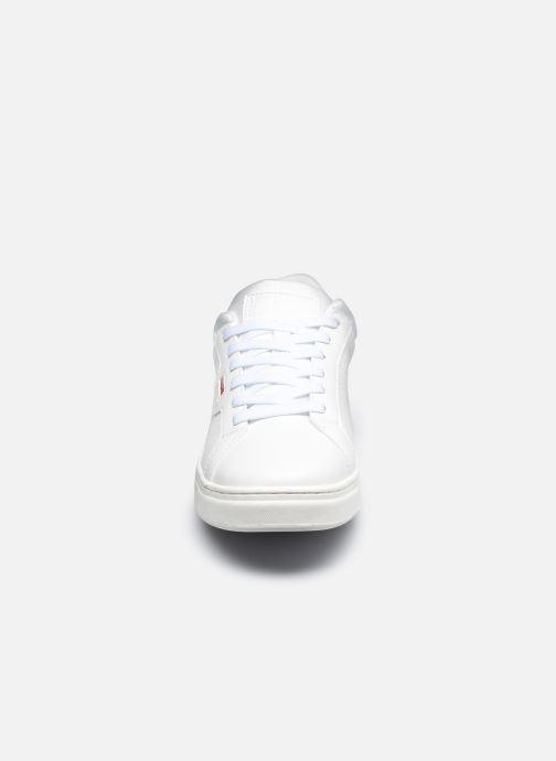 Baskets Levi's Caples Sport Blanc vue portées chaussures