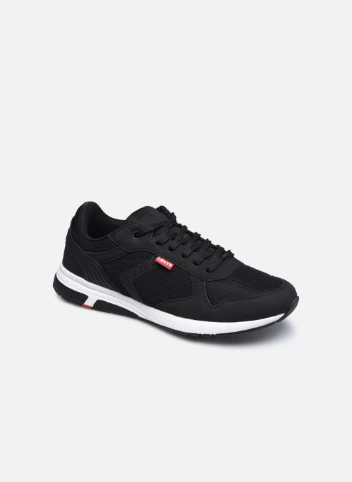 Sneakers Levi's Farmington Sort detaljeret billede af skoene
