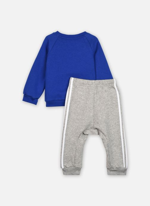 Vêtements adidas performance 3Slogo Jog Fl I Bleu vue portées chaussures