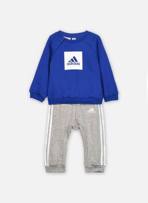Vêtements adidas performance 3Slogo Jog Fl I Bleu vue détail/paire