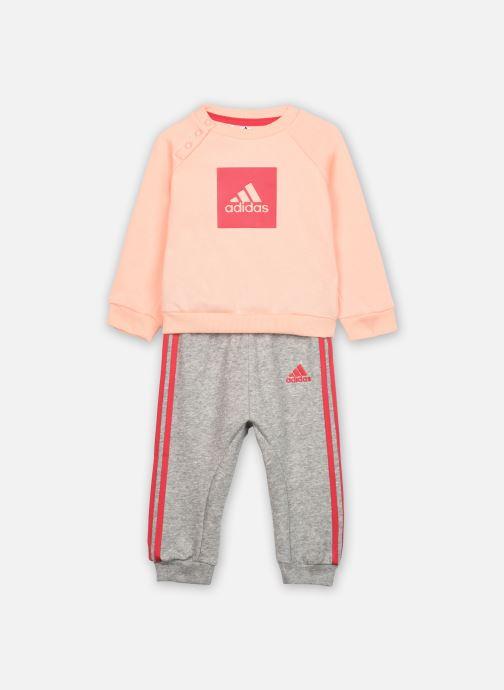 Vêtements adidas performance 3Slogo Jog Fl I Rose vue détail/paire