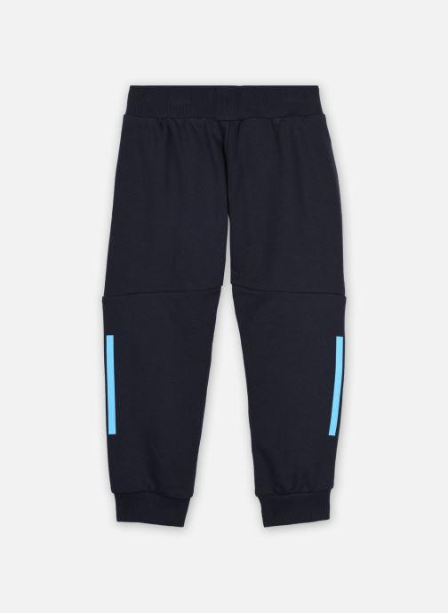 Vêtements adidas performance LB DY Sm Pant Bleu vue portées chaussures
